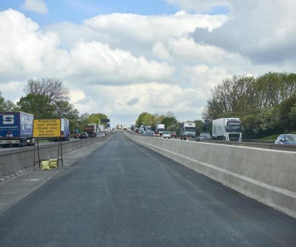 Work on M6 safety barriers to bring overnight closures