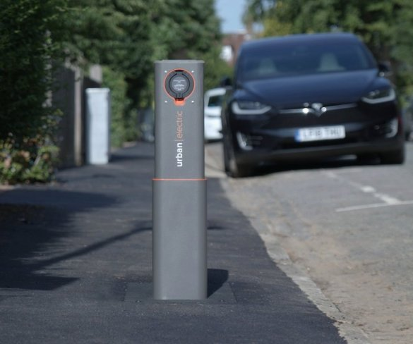 'World-first' pop-up charging hub brings practical on-street charging solution