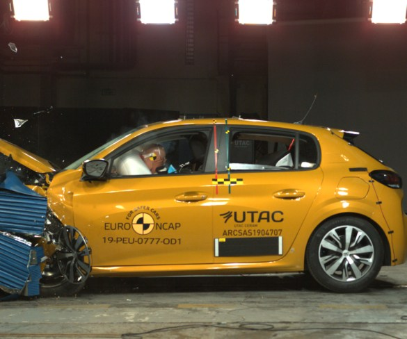 Peugeot 208 'narrowly misses out' on five-star Euro NCAP rating
