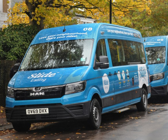 Second on-demand bus trial starts in London