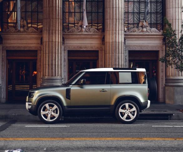 Land Rover announces short-wheelbase Defender 90 pricing