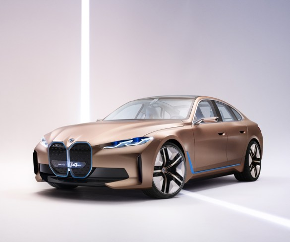 BMW reveals its next electric car with Concept i4