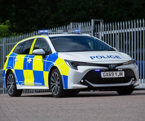 Toyota Corolla Hybrid assessed by police as potential patrol car