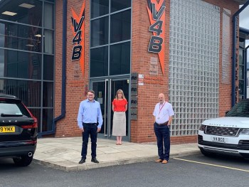 Jason Reynolds has been appointed managing director at V4B