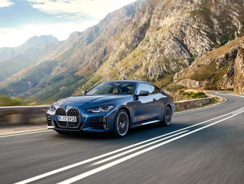 The new BMW 4 Series Coupé is priced from £39,870