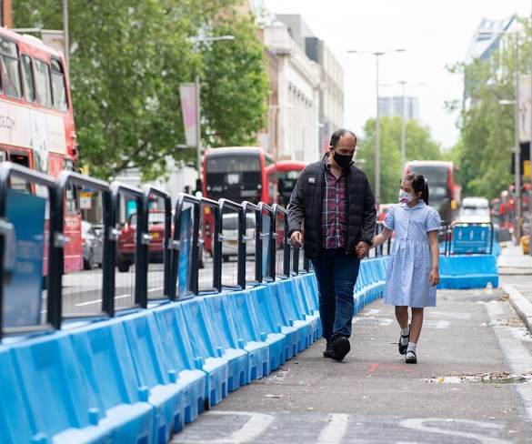 TfL urges Londoners to drive safe amidst increase in cyclists and pedestrians