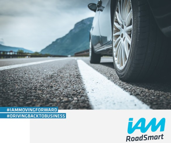 Free IAM RoadSmart guide to help business drivers return to work safely