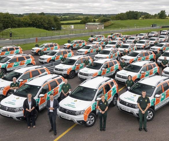 Dacia Duster chosen by South Central Ambulance Service fleet