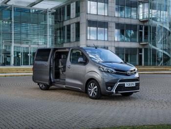 Sat nav is now standard across the Toyota Proace MPV range