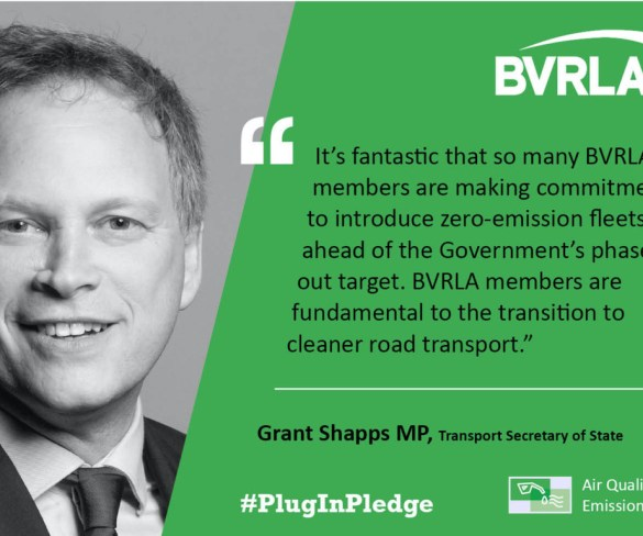 BVRLA ups ante on Plug-in Pledge as fleets prove pivotal to decarbonisation