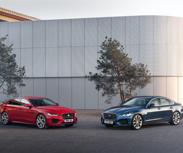 2021 Jaguar XE and XF get mild hybrid and new tech