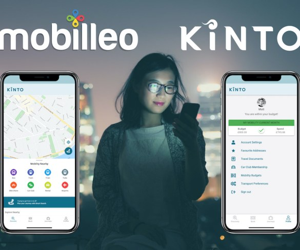 Toyota Kinto Europe brand becomes new mobility services company