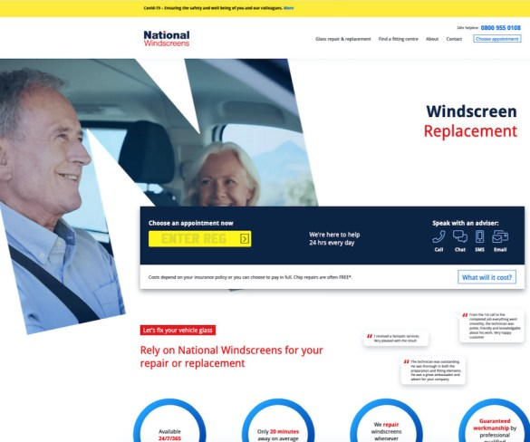 National Windscreens fast-tracks shift to online transactions