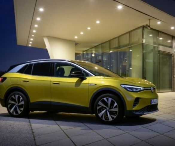 Volkswagen ID.4 electric SUV goes on sale