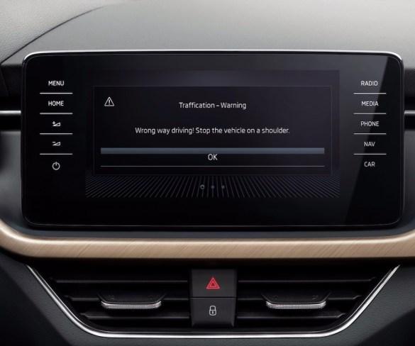 Škoda app alerts drivers on wrong-way driving