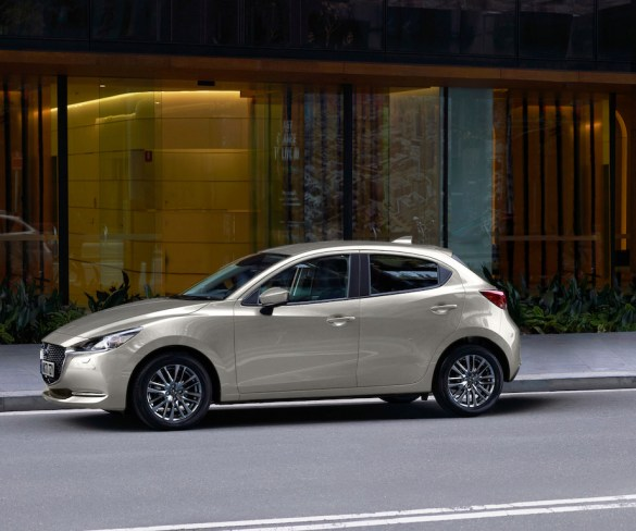 Updated Mazda2 to bring big CO2 reductions
