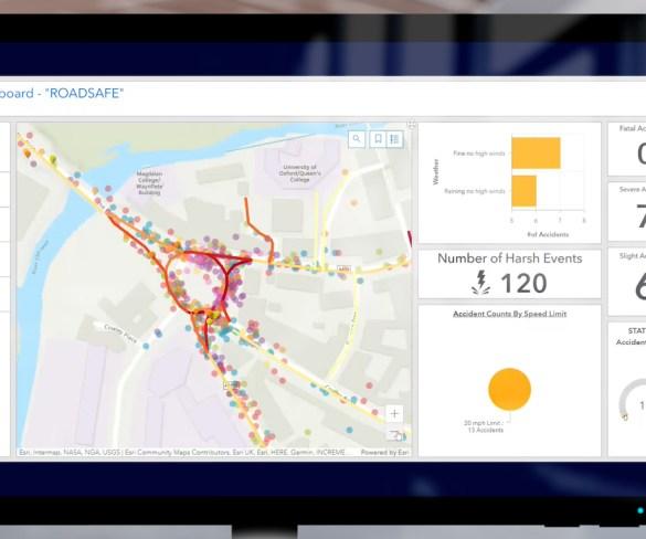 Ford 'Roadsafe' dashboard to alert fleet drivers to high-risk roads