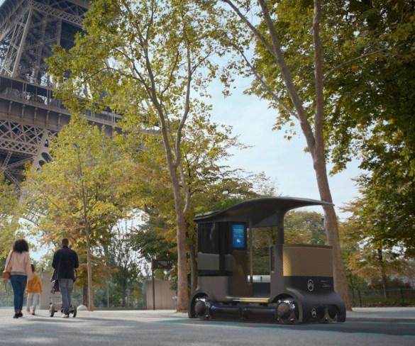 Citroën to reinvent urban mobility with autonomous electric platform and pods
