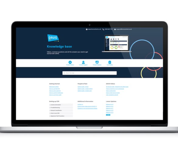 Licence Check launches free knowledge base for DAVIS