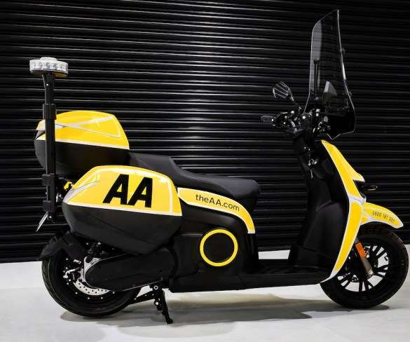 AA teams with Silence UK for electric breakdown concept