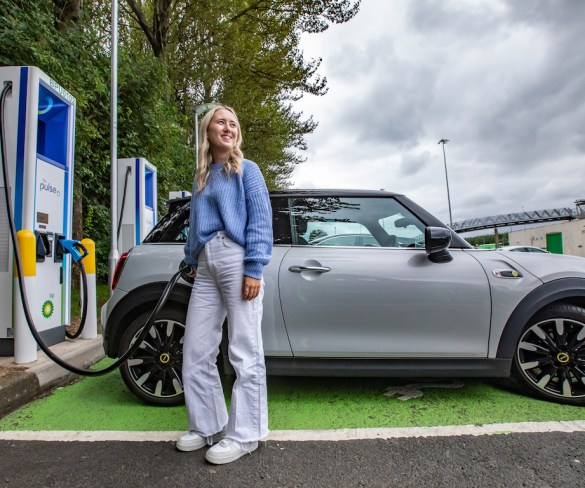 BP Pulse installs ultra-fast chargers on Scotland's M8 motorway
