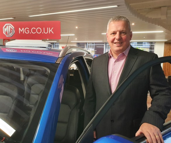 Geraint Isaac promoted to MG head of fleet sales