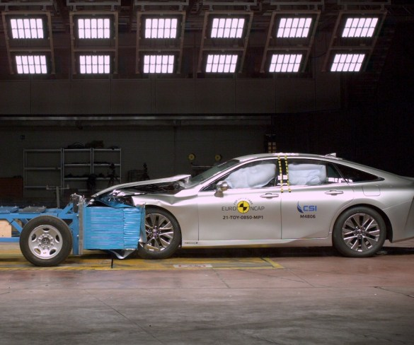 EVs and hybrids score five-star results in latest Euro NCAP tests