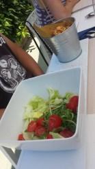 Calamari con l'insalata