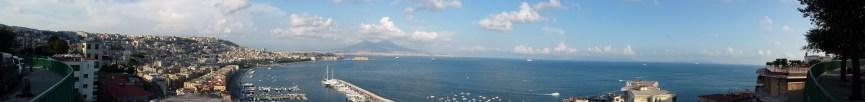 panorama view naples