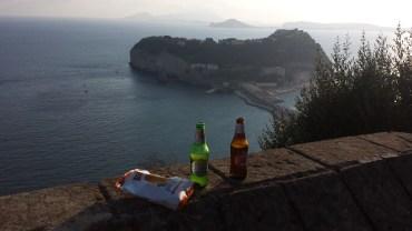 beer, parco virgiliano, nisidia island