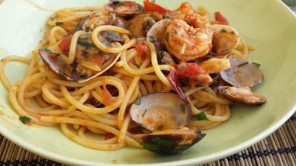 spaghetti-frutta di mare