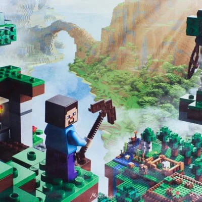 """lego minecraft 21115"" by ""lego minecraft 21115"" is licensed under ""lego minecraft 21115"""