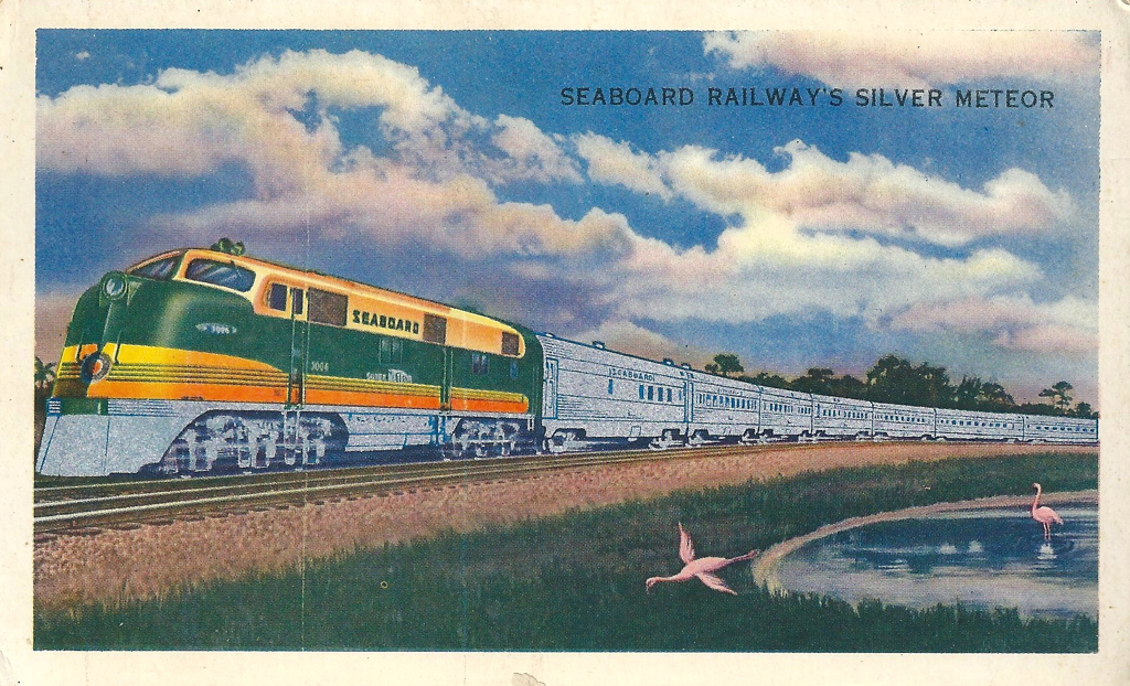 Trains - Seaboard Railway's Silver Meteor, Metallic