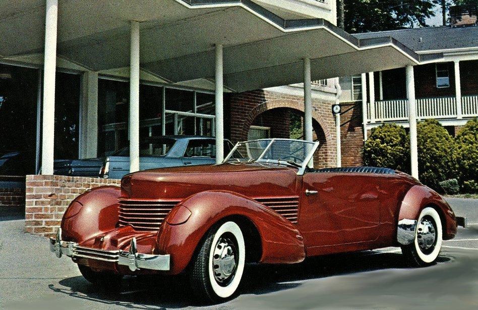 1937 Cord Phaeton Saloon