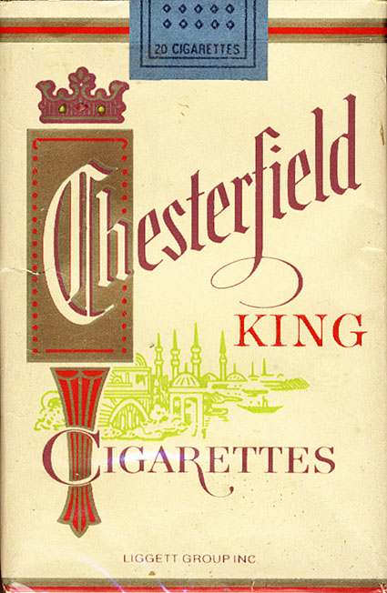 Cheap cigarettes Chesterfield online ordering