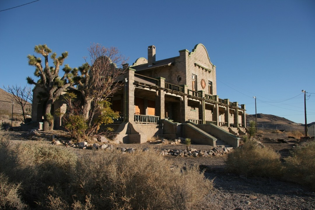 Rhyolite Train Station
