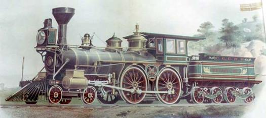 Highland Light Locomotive