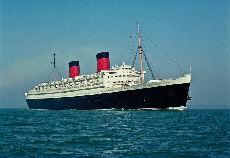 The RMS Queen Elizabeth