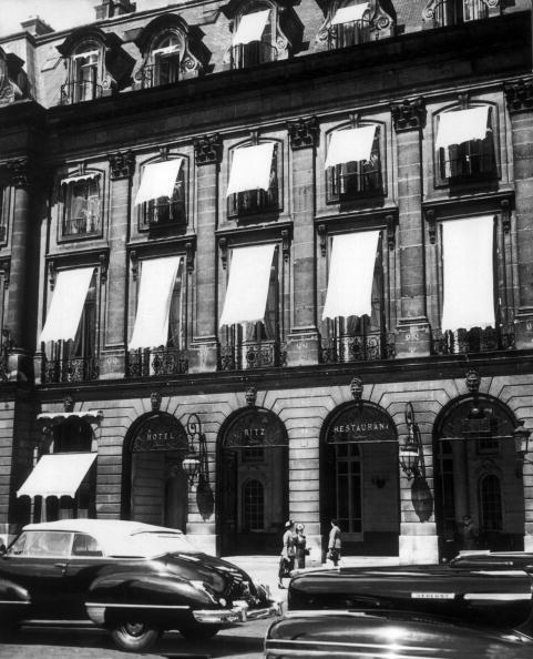 Ritz Hotel, Paris. Rue Cambon Street side.