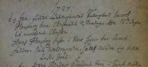 Christin Flensburg f 1727