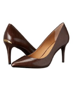 Calvin Klein: Gayle Dress Pump in Espresso