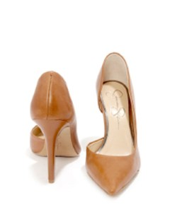 Jessica Simpson – Claudette in Burnt Umber Calf