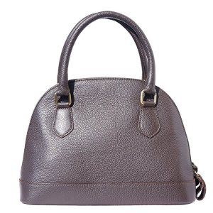 Florence Leather Market Bowling Bag