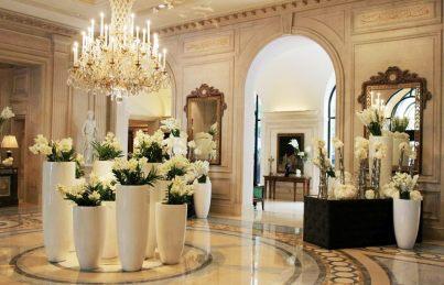 Four Seasons Hotel George V Paris par Jeff Leatham. ©LM Flower Fashion