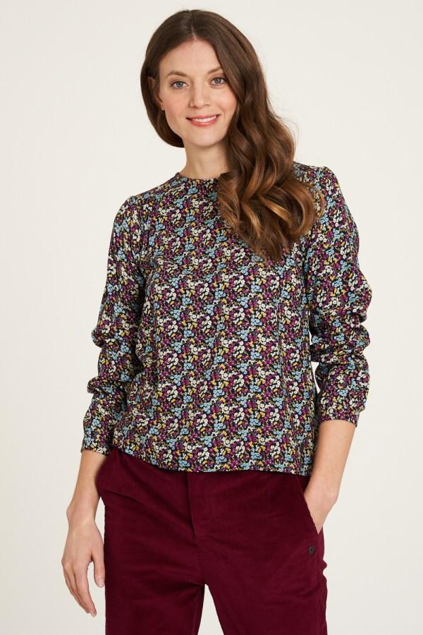 blouse florista Ecovero Tranquillo