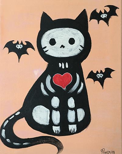 October 14: Halloween Kitty (Children's Class)