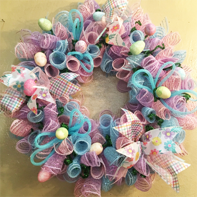 March 2: Easter Wreath