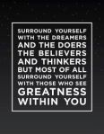 Realize your Greatness