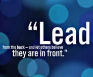 True leaders empower others