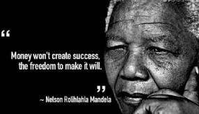 Money doesn't create success
